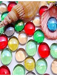 cheap -Fish Tank Aquarium Decoration Ornament Random Color Decoration Glass 1 set 1.7~1.9 cm