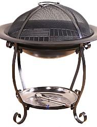 Недорогие -Походная горелка Все для приготовления пищи на улице Пригодно для носки за 3-4 человека Металлические Металл на открытом воздухе Походы Черный