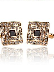 cheap -Cufflinks Dresswear Rhinestone Brooch Jewelry Silver Golden For Daily Formal