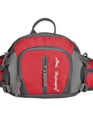 Недорогие -12 L Поясная сумка Сумка на пояс Многофункциональный Быстровысыхающий Износостойкость На открытом воздухе Охота Пешеходный туризм Путешествия Нейлон Красный Зеленый Синий