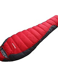 cheap -Sleeping Bag Outdoor Camping Envelope / Rectangular Bag 26 °C Single Duck Down Windproof Thick Folding Autumn / Fall Winter for Camping / Hiking Camping / Hiking / Caving Outdoor
