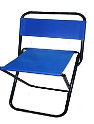 Недорогие -Пляжное кресло Складное туристическое кресло Складной Металлические холст для 1 человек Пляж Походы Осень Весна Темно-синий