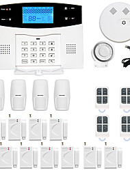 cheap -GSM / PSTN Platform SMS / Phone / Learning Code 433MHz Telephone Home Alarm Systems Infrared Detector Remote Controller Transmmitter Siren Smoke Detector Door Window Sensor Motion Sensor