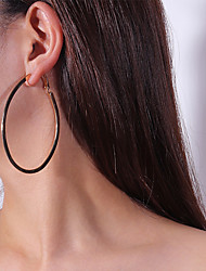 cheap -Women's Drop Earrings Hoop Earrings Fashion Earrings Jewelry Gold / Silver For Carnival Street