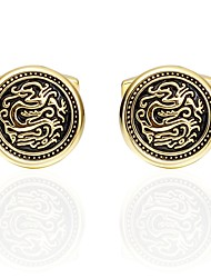 cheap -Cufflinks Asian Fashion Brooch Jewelry Golden For Daily Festival