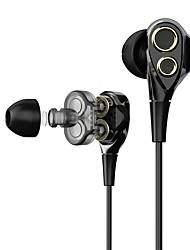 Недорогие -T8/T8S Наушники-вкладыши Проводное Мобильный телефон С микрофоном