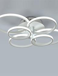 abordables -6 tête moderne simplicité led plafonnier salon salle à manger chambre luminaire