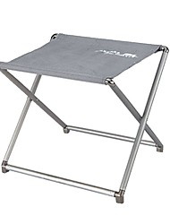 cheap -Camping Stool Portable Ultra Light (UL) Foldable Compact Aluminium alloy for 1 person Camping / Hiking Hunting Fishing Beach Autumn / Fall Spring Silver
