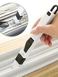 cheap -2 in 1 multi-function window slot brush with dustpan screen keyboard drawer wardrobe corner gap Dust removal cleaning brush