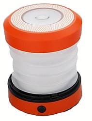 Недорогие -Походные светильники и лампы 50 lm Светодиодная лампа LED излучатели Автоматический Режим освещения Плотное облегание Оранжевый