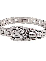 cheap -Men's Chain Bracelet Asian Fashion Titanium Steel Bracelet Jewelry Silver For Street Going out