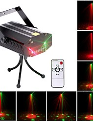 cheap -U'King Disco Lights Party Light Laser Stage Light DMX 512 / Master-Slave / Sound-Activated Outdoor / Party / Stage Professional Red Green for Dance Party Wedding DJ Disco Show Lighting