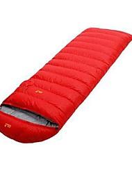 cheap -Sleeping Bag Outdoor Camping Envelope / Rectangular Bag 20 °C Single Duck Down Windproof Folding Autumn / Fall Winter for Camping / Hiking Camping / Hiking / Caving Outdoor