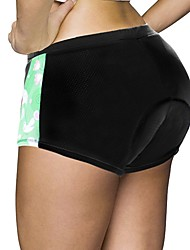 cheap -ILPALADINO Women's Cycling Under Shorts Cycling Shorts Bike Shorts Padded Shorts / Chamois Bottoms 3D Pad Quick Dry Anatomic Design Sports Animal Spandex Elastane Lycra Black Road Bike Cycling