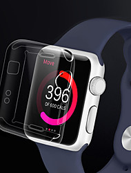cheap -Case For iWatch 38mm Apple Watch Series 3 / 2 / 1 TPU Apple