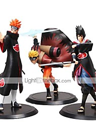 cheap -Anime Action Figures Inspired by Naruto Madara Uchiha PVC(PolyVinyl Chloride) 19-16 cm CM Model Toys Doll Toy