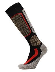 cheap -Men's Ski Socks Ski / Snowboard Breathability Heat Retaining Cotton Socks Long Socks Ski Wear / Winter