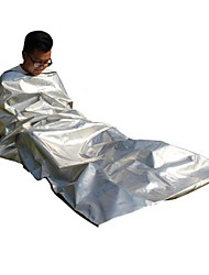 cheap -AOTU Emergency Blanket Emergency Sleeping Bag Outdoor Camping Envelope / Rectangular Bag 26 °C Single Synthetic Thermal / Warm Radiation Protection Heat Retaining Heat-Insulated All Seasons for