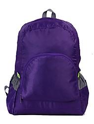 Недорогие -15 L Рюкзаки рюкзак Водонепроницаемость Учебный Грузовой На открытом воздухе Охота Пешеходный туризм Ткань Нейлон Зеленый Синий Фиолетовый