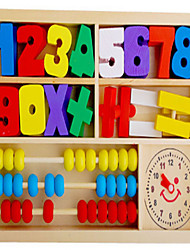 cheap -Educational Flash Card / Building Blocks / Math Toy School / Graduation School / Eco-friendly / Calculator Boys' Kid's Gift