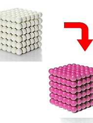 cheap -512 pcs Magnet Toy Magnetic Balls Building Blocks Super Strong Rare-Earth Magnets Neodymium Magnet Puzzle Cube Magnetic Cat Eye Glossy Color Changing Sports Adults' Boys' Girls' Toy Gift