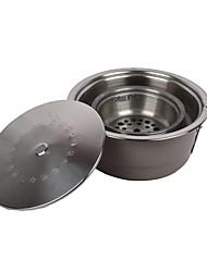 Недорогие -Походная горелка Все для приготовления пищи на улице 1 Пригодно для носки за 3-4 человека Металл на открытом воздухе Походы Серебряный