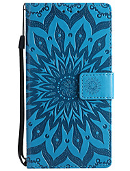cheap -Case For Nokia Lumia 635 / Nokia Lumia 650 / Nokia Lumia 640 Nokia 8 / Nokia 6 / Nokia 5 Wallet / Card Holder / with Stand Full Body Cases Solid Colored Hard PU Leather