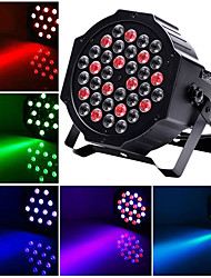 cheap -U'King Disco Lights Party Light LED Stage Light / Spot Light / LED Par Lights DMX 512 / Master-Slave / Sound-Activated 36 W Party / Stage / Wedding Professional Red Blue Green for Dance Party Wedding