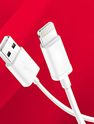 cheap -Lightning Cables / Cable 1m-1.99m / 3ft-6ft Normal TPU USB Cable Adapter For iPad / Apple iPad / Apple