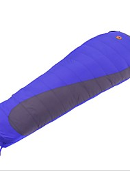 cheap -Shamocamel® Sleeping Bag Outdoor Camping Mummy Bag 10 °C Single Duck Down Windproof Warm Ultra Light (UL) Thick Wear Resistance Autumn / Fall Winter for Camping / Hiking Camping / Hiking / Caving