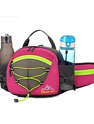 cheap -Fanny Pack Waist Bag / Waist pack Running Pack 5 L for Hunting Hiking Sports Bag Trainer Wearable Nylon Running Bag