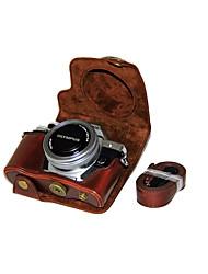 Недорогие -dengpin® пу кожаный чехол для камеры сумка чехол для Olympus E-M10 Mark II EM10 Mark2 (14-42 мм объектив эз (ассорти цветов)