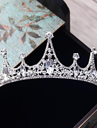 cheap -Alloy Tiaras with Rhinestone / Crystal 1pc Wedding / Party / Evening Headpiece