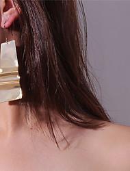 cheap -Women's Drop Earrings Hoop Earrings Oversized Earrings Jewelry Gold / Silver For Carnival Street