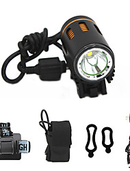 cheap -ANOWL LS8861-1 LED Light 1100 lm LED LED 1 Emitters 3 Mode with Battery and Charger Easy Carrying Camping / Hiking / Caving Everyday Use Diving / Boating Golden+Black