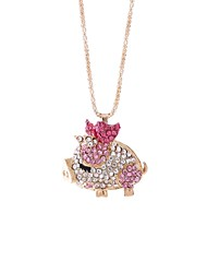 cheap -Women's Pendant Necklace Chain Necklace Pig Korean Sweet Alloy Light Brown Purple Pink Dark Blue Necklace Jewelry One-piece Suit For Daily Carnival