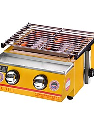 cheap -Camping Grill Camping Burner Stove Outdoor Cookware One-piece Suit Heat Insulated for 3 - 4 person Stainless Steel Outdoor Camping Yellow
