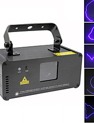 cheap -U'King Disco Lights Party Light Laser Stage Light DMX 512 / Master-Slave / Sound-Activated 15 W Outdoor / Party / Stage Professional Blue for Dance Party Wedding DJ Disco Show Lighting