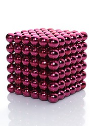 cheap -216 pcs Magnet Toy Magnetic Blocks Magnetic Balls Building Blocks Super Strong Rare-Earth Magnets Neodymium Magnet Puzzle Cube Magnetic Cat Eye Glossy Sports Adults' Boys' Girls' Toy Gift