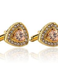 cheap -Cufflinks Formal Elegant Fashion Alloy Brooch Jewelry Golden Silver For Wedding Evening Party