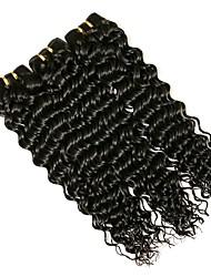 cheap -3 Bundles Brazilian Hair Curly Virgin Human Hair Natural Natural Color Human Hair Weaves Fashionable Design Woven For Black Women Human Hair Extensions / 10A