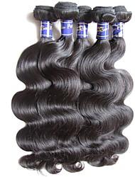 cheap -Unprocessed Human Hair / Virgin Human Hair / Remy Human Hair Hair weave / Remy Weaves For Black Women Body Wave Peruvian Hair 0.5kg 1 Year / 12 Months Dailywear