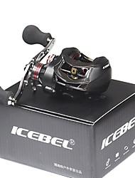 cheap -Baitcasting Reel 6.3:1 Gear Ratio+14 Ball Bearings Right-handed / Left-handed Sea Fishing / Bait Casting / Ice Fishing - IC528 / Carbon Fiber / Freshwater Fishing / Carp Fishing / Bass Fishing