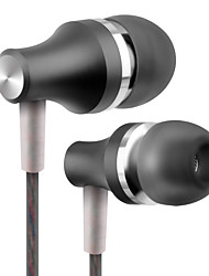 cheap -PHB EM001 Wired In-ear Earphone Wired with Microphone with Volume Control Mobile Phone