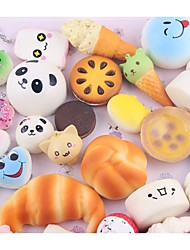 cheap -Squishy Squishies Squishy Toy Squeeze Toy / Sensory Toy Jumbo Squishies Stress Reliever Food&Drink Food Donuts Bread Novelty For Kid's Adults' Boys' Girls' Gift Party Favor 10 pcs