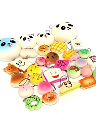 cheap -Squishy Squishies Squishy Toy Squeeze Toy / Sensory Toy Stress Reliever Food Panda Dessert Mini Kawaii Slow Rising For Kid's Adults' Boys' Girls' Gift Party Favor 10 pcs / Random color delivery.
