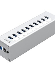 cheap -ORICO USB 3.0 to USB 3.0 USB Hub 10 Ports High Speed / Input Protection / Over Range Protection