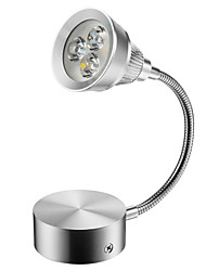 cheap -ZDM 1PC 3W 300-350LM Highlight High-power Lamp Beads Thickened Aluminum Shell Mini Style LED Swing Arm Lights Study Room / Office / Indoor Metal Wall Light IP44 AC85-265V