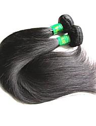 cheap -Virgin Human Hair Straight Indian Hair 200 g 1 Year / 12 Months Daily