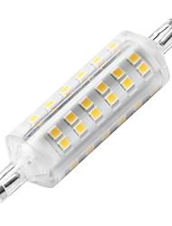 Недорогие -ywxlight® r7s 72led 6w 500-600lm керамический светильник тела теплый белый r7s кукуруза лампа светодиодная лампа переменного тока 220-240v